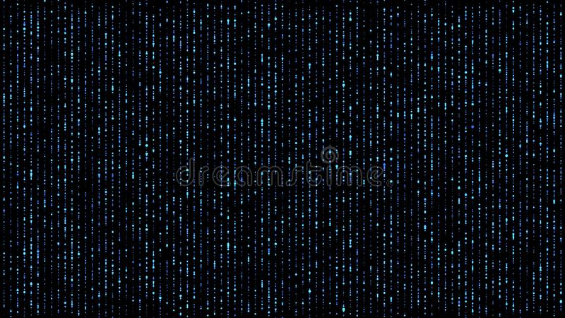 Azul abstracto de las luces que cae libre illustration