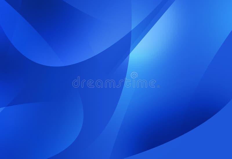 Azul abstrato ilustração royalty free