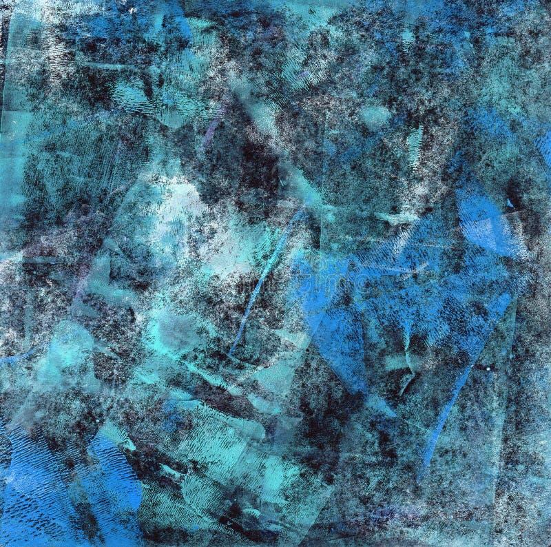 Azul abstrato imagem de stock royalty free