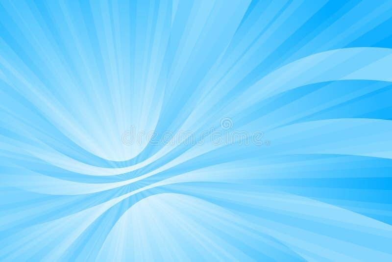 Azul abstrato ilustração stock