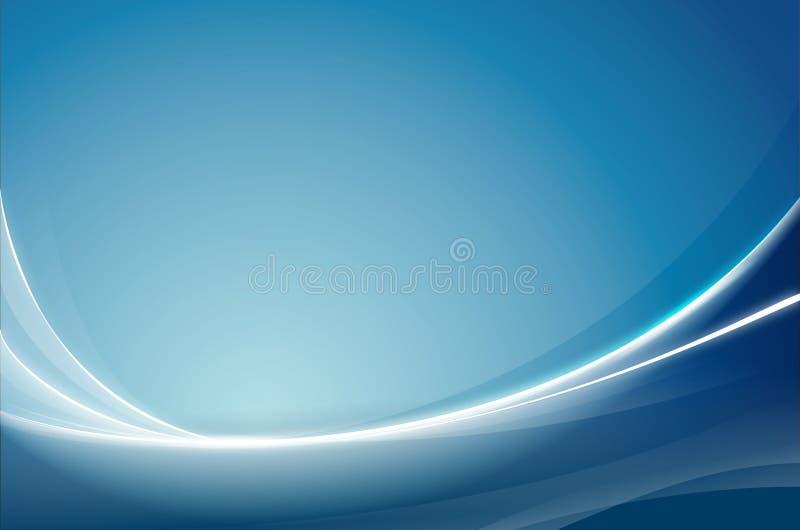 Azul abstrato do fundo ilustração stock