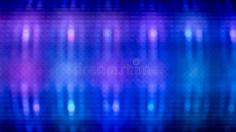 Azul abstrato luz blured ilustração royalty free