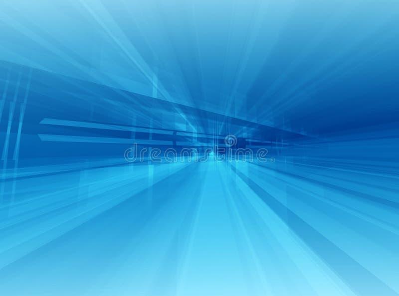 Azul arquitectónico stock de ilustración