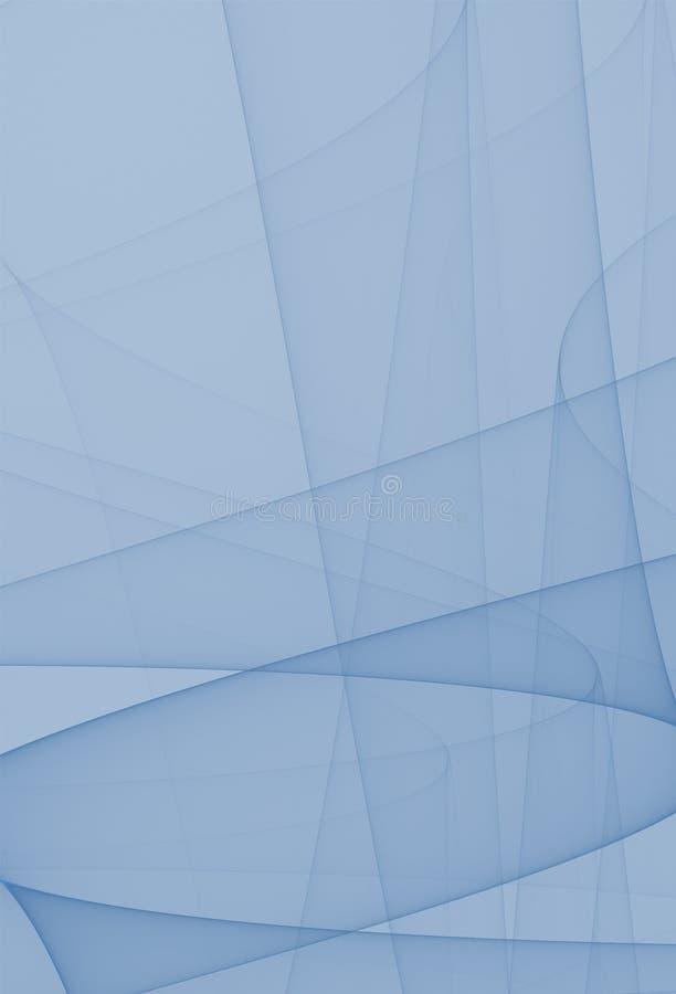 Azul calmo ilustração stock