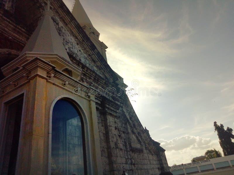 Azul, ciudad, edificio, cielo foto de archivo libre de regalías