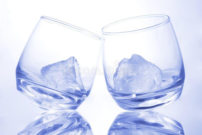 Azul como hielo imagenes de archivo