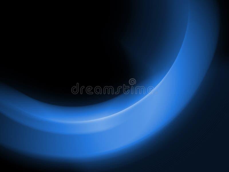 Azul da aura ilustração stock