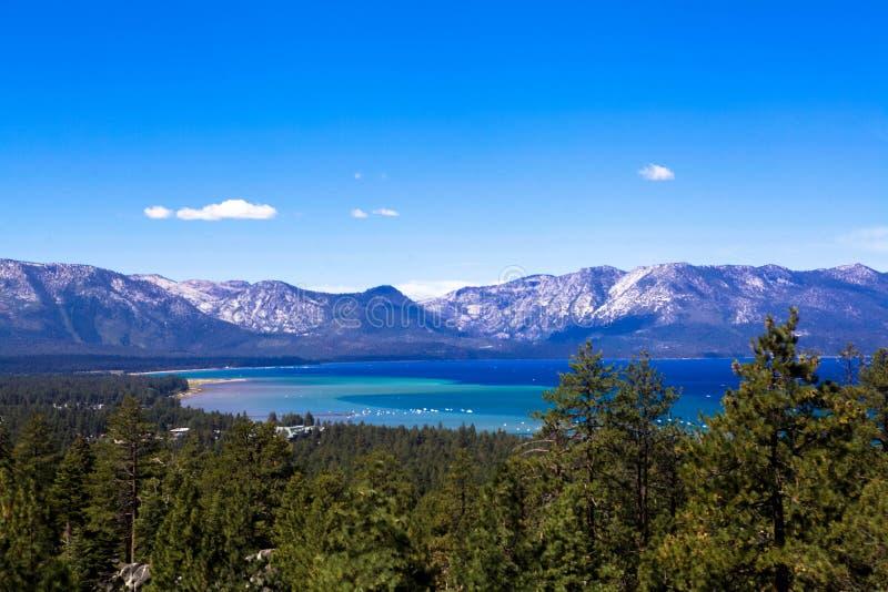 Azul da região selvagem de Tahoe fotografia de stock royalty free