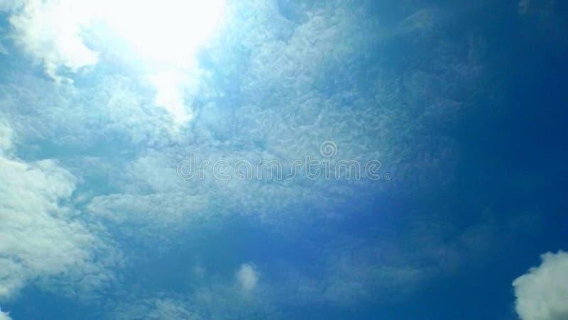 Azul de cielo foto de archivo