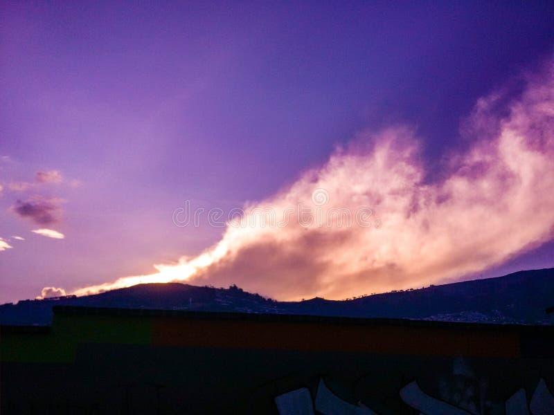 Azul de cielo foto de archivo libre de regalías