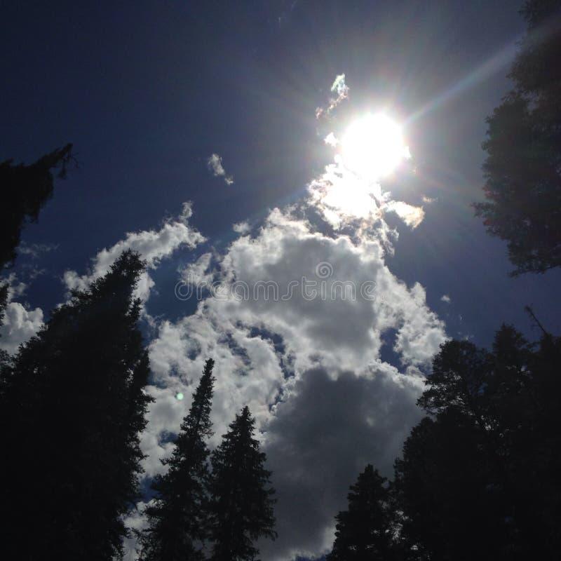 Azul de cielo fotos de archivo