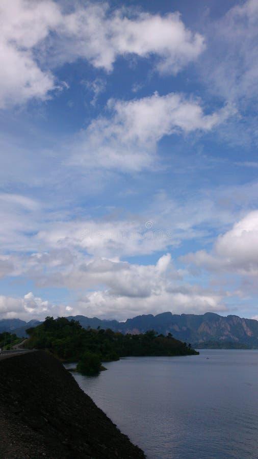 Azul de cielo imagen de archivo