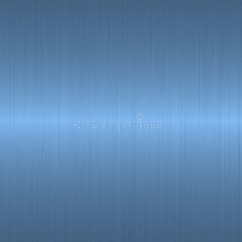 Azul de cielo aplicado con brocha linear ilustración del vector