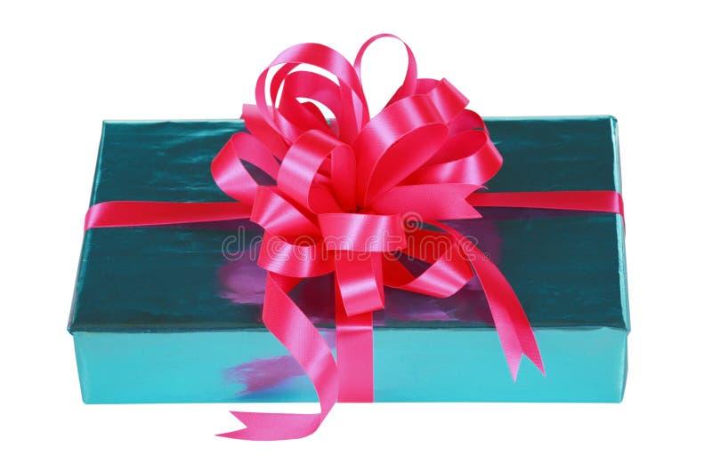 Azul de cielo presente con el arqueamiento rosado imágenes de archivo libres de regalías
