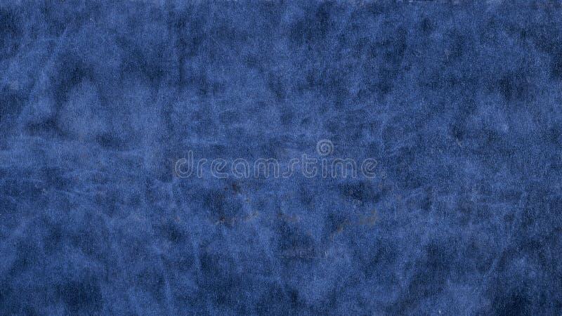 Azul de cuero, liso imágenes de archivo libres de regalías