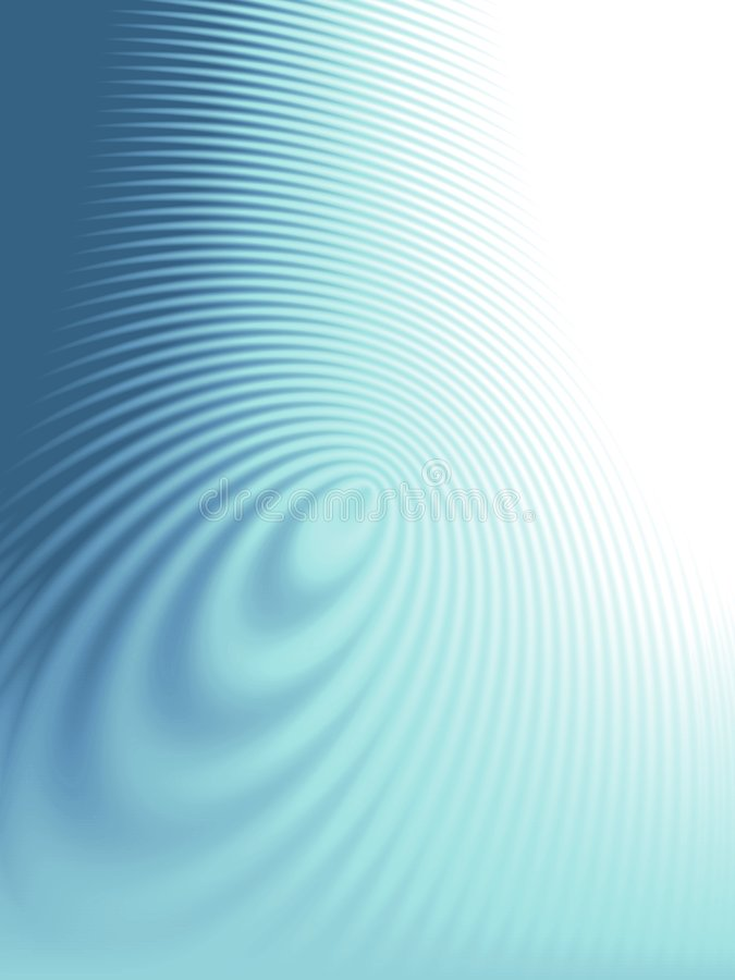 Azul de la textura de las ondas de las ondulaciones ilustración del vector