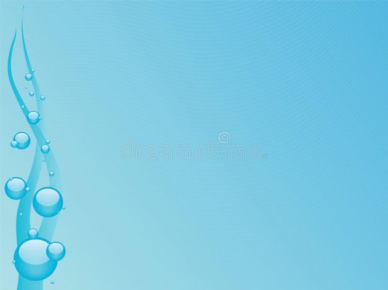 Azul de océano stock de ilustración