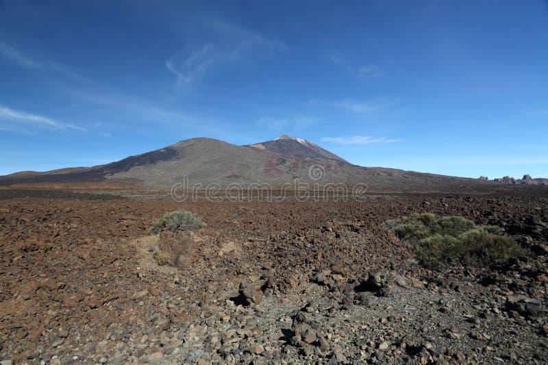 Azul de Teide foto de stock royalty free