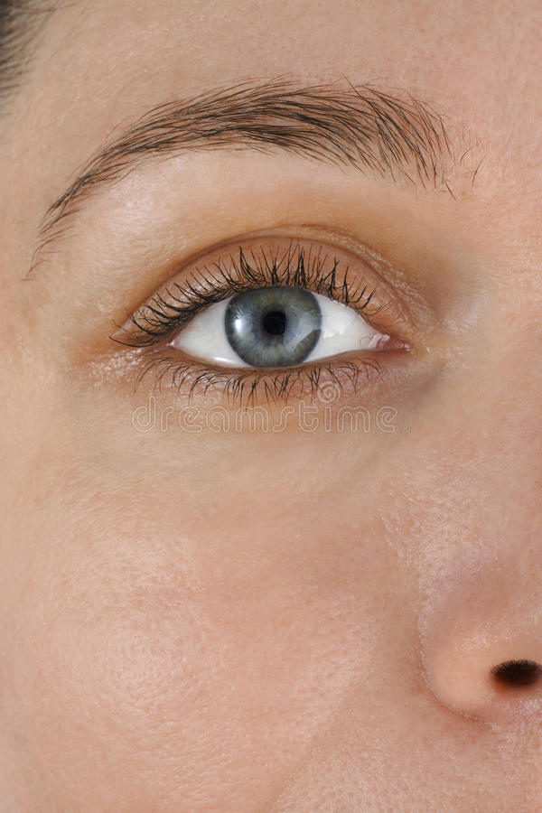 Azul del ojo imagen de archivo libre de regalías