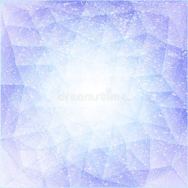 Azul 09 del triángulo libre illustration