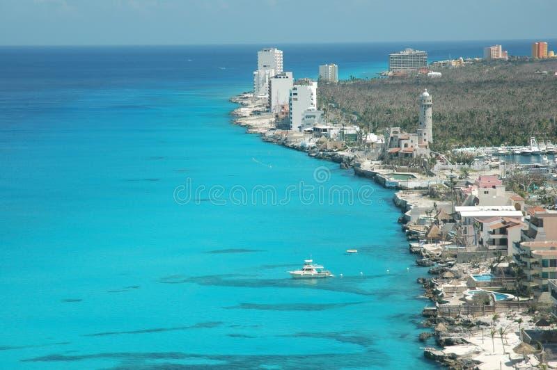 Azul di Cozumel immagini stock