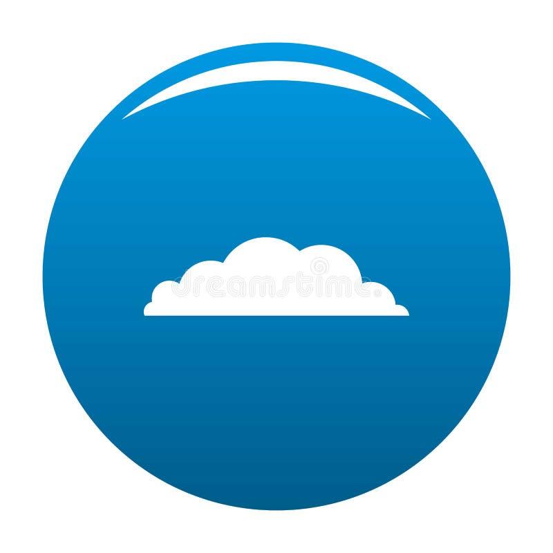 Azul do ícone do clima ilustração royalty free