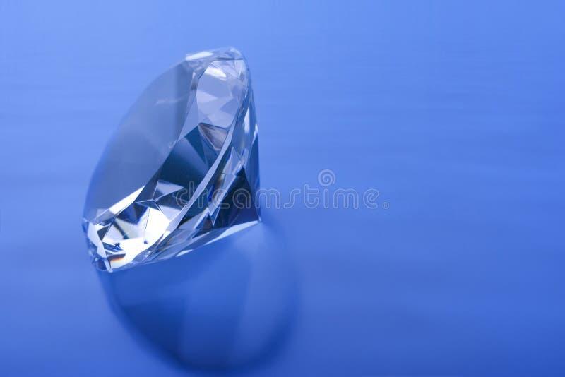 Azul do diamante fotografia de stock