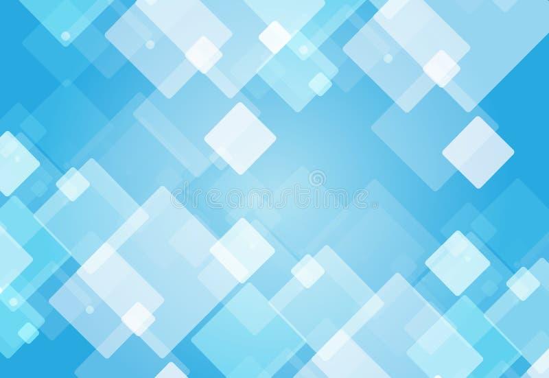 Azul do projeto gráfico ilustração stock