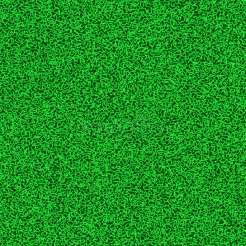 - Azul e escuro - pontos verdes e luz escuros - manchas do verde misturadas no molde complicado infinito do fundo ilustração royalty free