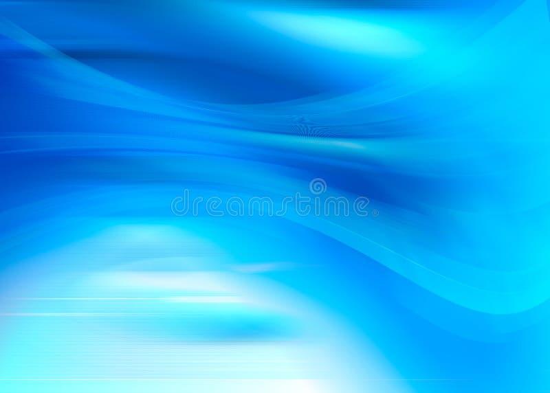Azul eléctrico ilustración del vector