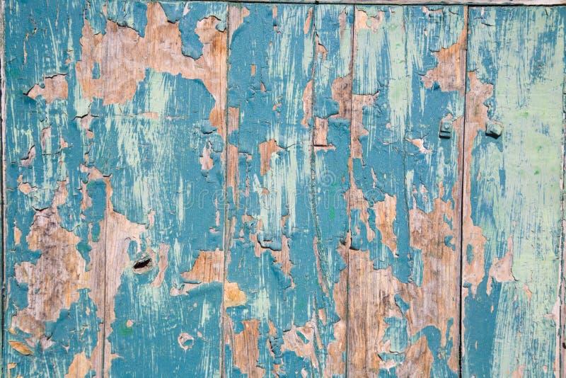 azul en pintada puerta 库存图片