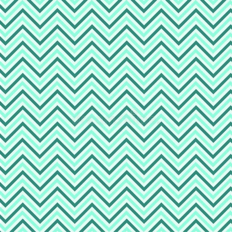 Azul Grey Background Zigzag do teste padrão ilustração do vetor
