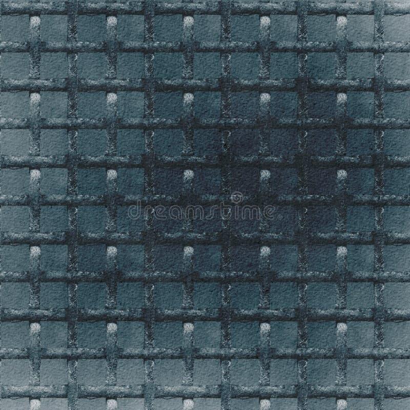 Azul Grunge com fundo abstrato preto foto de stock