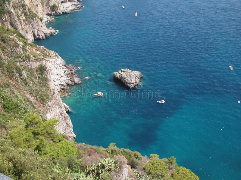 Azul Italy de Capri fotografia de stock royalty free