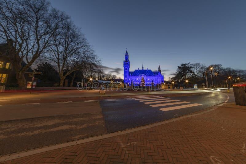 Azul para el día 2018 de los derechos humanos imagenes de archivo