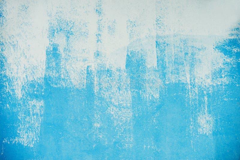 Azul pintado imagen de archivo