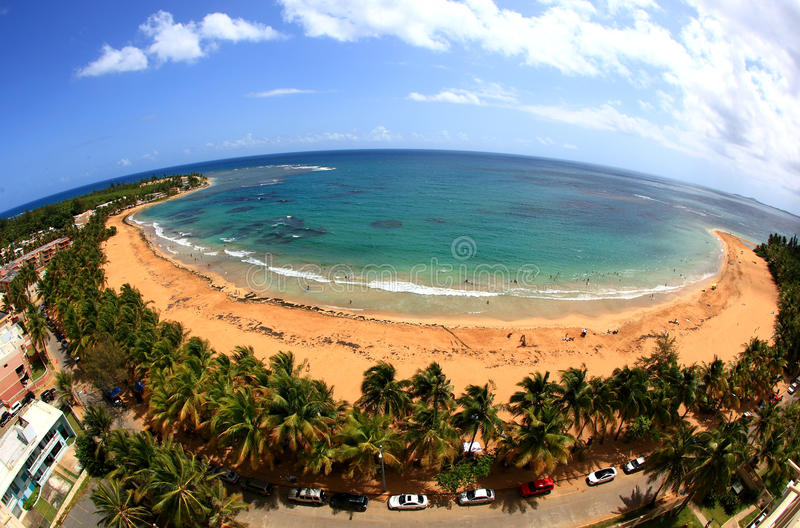 azul playa obraz royalty free