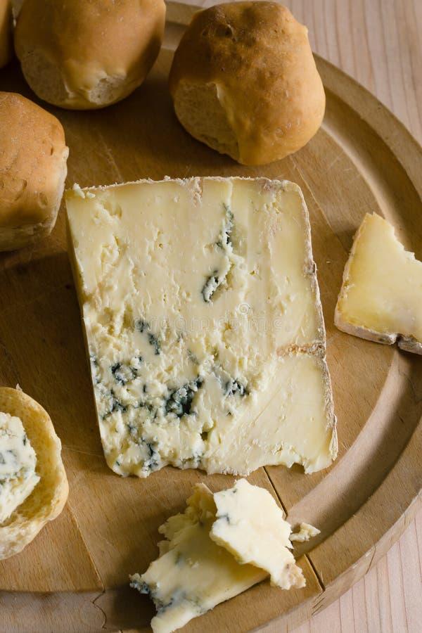 Azul Vinny Cheese de Dorset fotografia de stock