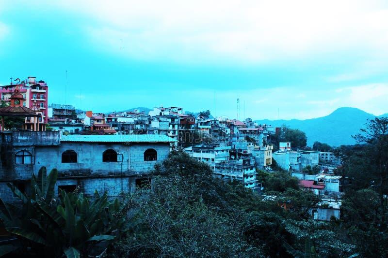 Azul Xilitla стоковая фотография