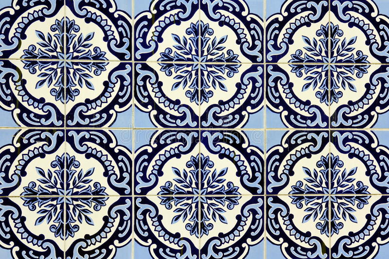 Azulejo在波尔图 库存图片
