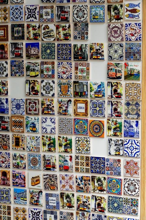 Azulejo葡萄牙锦砖 免版税库存照片