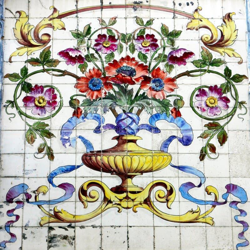 Azulejo à Lisbonne images libres de droits