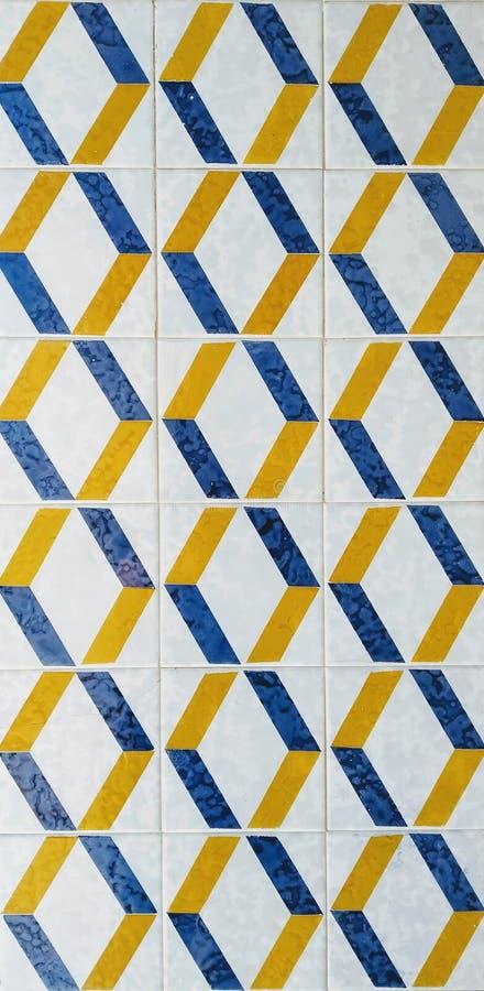 Azulejo Πορτογαλικό κεραμίδι Υπαίθριος και εσωτερικός στοκ φωτογραφία με δικαίωμα ελεύθερης χρήσης