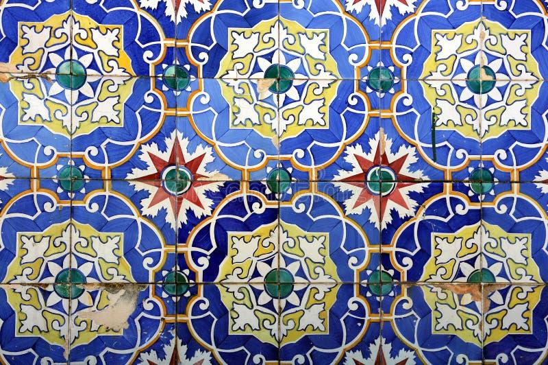 Azulejo in Braga. Azulejo (wall tile) in the city of Braga, Portugal stock photography
