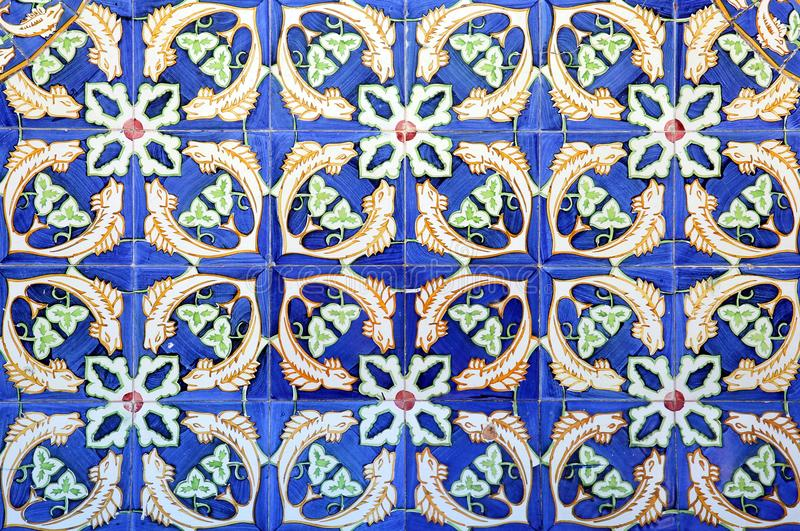 Azulejo in Braga lizenzfreie stockfotos