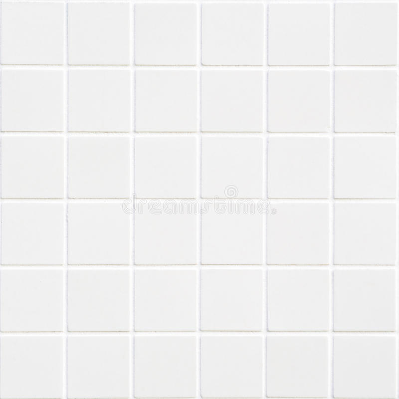 Azulejo branco com 36 quadrados no formulário quadrado fotos de stock
