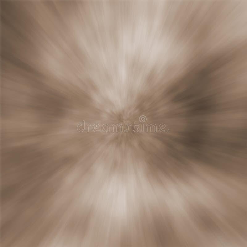 Azulejo de la explosión de la sepia ilustración del vector