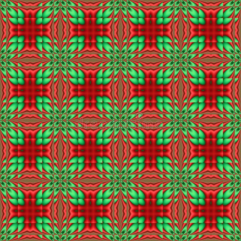 Azulejo de la Navidad ilustración del vector