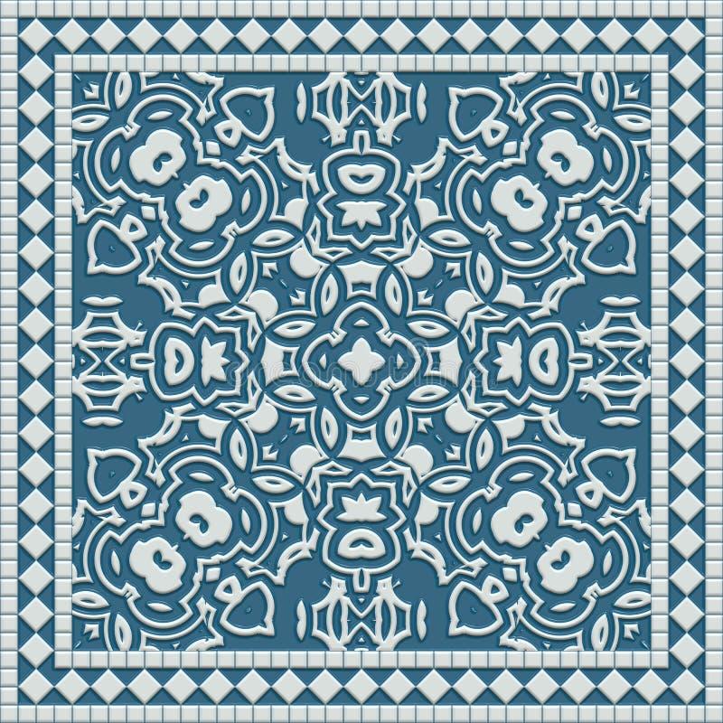 Azulejo de mármol libre illustration