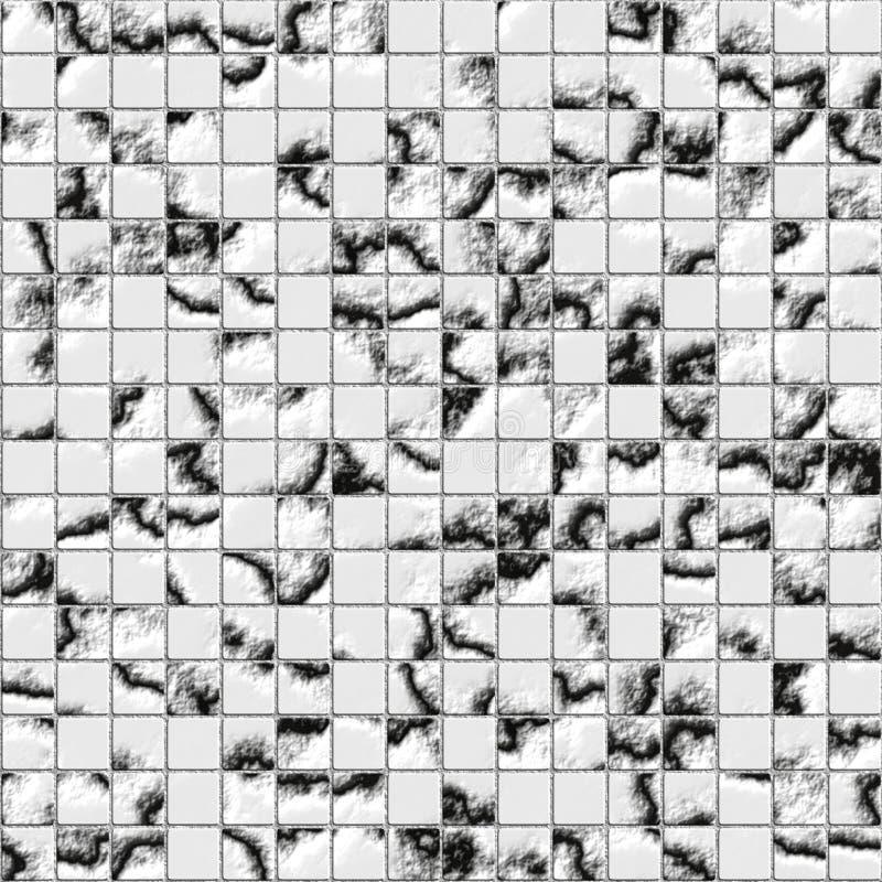 Azulejo de mosaico ilustración del vector